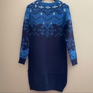 Long Sleeve Sweater Dress Size XXL